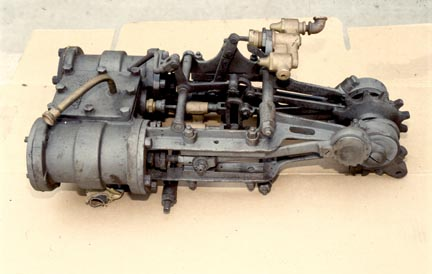 Locomobile Engine