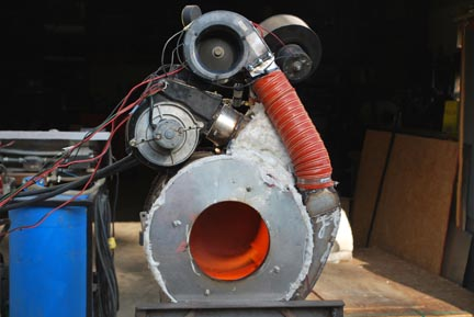 Steam powered motorcycle boiler